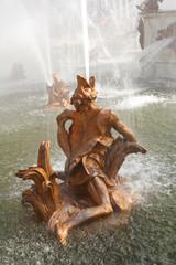 Fuente de la ranas, en la Granja de San Ildefonso