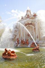 Fuente de los Baños de Diana, en los jardines de la Granja