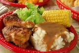 Chicken feast poster