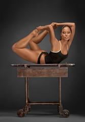 Gymnastic gimmicks.