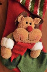 Rudolf the red nosed raindeer