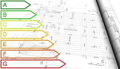 certificazione energetica su disegno tecnico