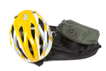 Bicycle and bags