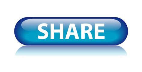 SHARE Web Button (social network internet community like upload)