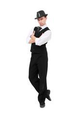 Attractive gentleman standing