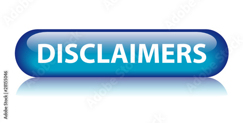 DISCLAIMERS Web Button (legal terms and conditions contract use)