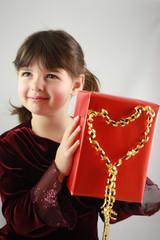 enfant et cadeau