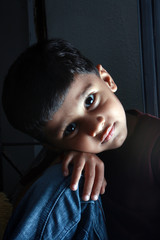 Sad Indian Kid