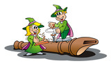 Working Elves poster