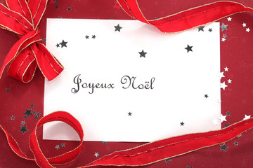 French Christmas Card