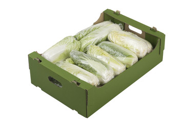 Box of Chinese Cabbage