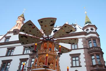 Nikolaikirchhof Weihnachten Leipzig