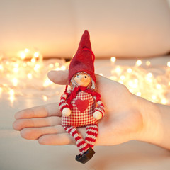 Игрушка рождественский эльф