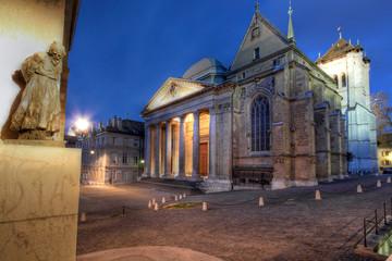 St-Pierre Cathedral 02, Geneva, Switzerland
