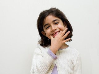 bambina sorriso