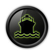 "Black Icon (Green Outlines) ""Ship / Water Transportation"""