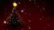Merry Christmas with animated christmas tree