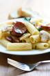 Pasta with Sausage and Mushrooms