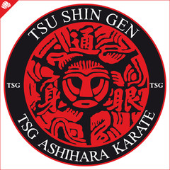 MAMARTIAL ARTS-TSU SHIN GEN KARATE simbol