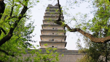 small (lesser) Wild Goose Pagoda