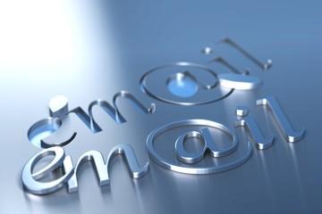 illustration, image webmail, email arrobase