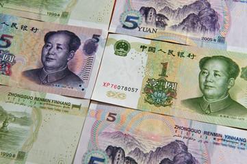 Chinese money - Yuan Bills