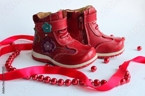 Leinwandbild Motiv Обувь
