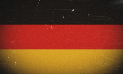 Germany grunge flag
