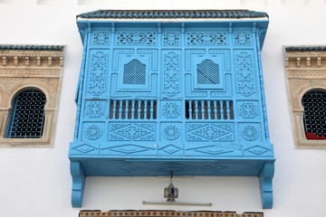 Traditional window from Kairouan, Tunisia