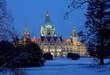 Rathaus Hannover im Winter