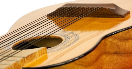 Body of a charango, South American acoustic instrument