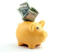 Fototapete Geld - Sparbüchse - Andere Objekte