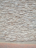 XXL Tightly Stacked Sandstone Slabs Block Wall Paver Sidewalk poster