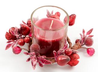 votive candle decoration