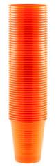 timbales orange empilées