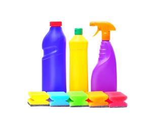 washing liquids and sponges