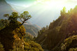 enchanted mountain landscape, Nepal