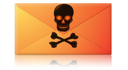 Spam, Virus, Phishing Email Envelope