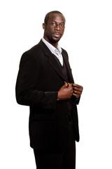 Formal Man on White