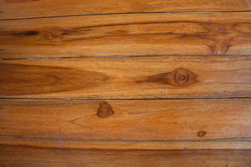 young teak plank