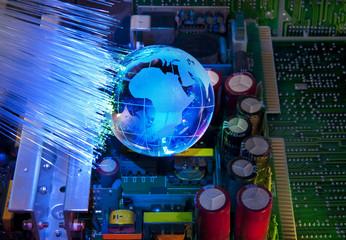 electronic printed circuit board