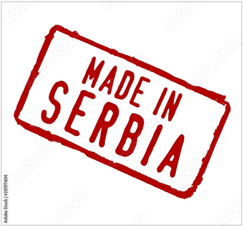 Serbia rubber stamp