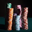 Pokerchips Stapel
