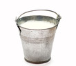 Leinwandbild Motiv milk pail
