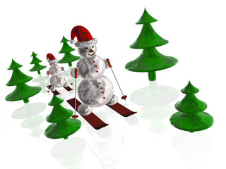 Snow mans