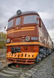 Fototapeta pociąg - przewóz - Kolej