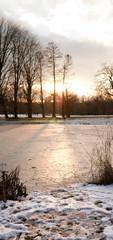 Vondelpark sunset