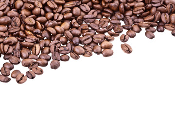 Coffee Beans - High Detail and Much Copyspace
