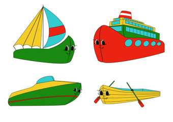 Water transport (vector)