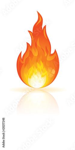 Icone - bouton feu